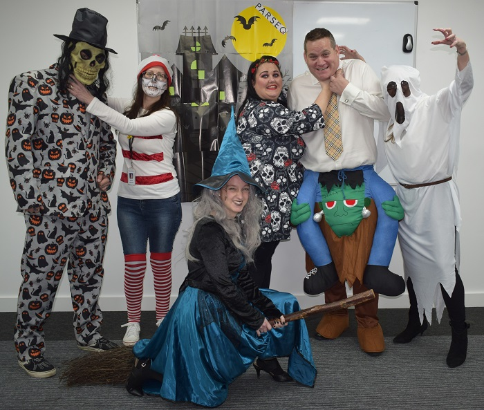 halloween hellaby- life at Parseq