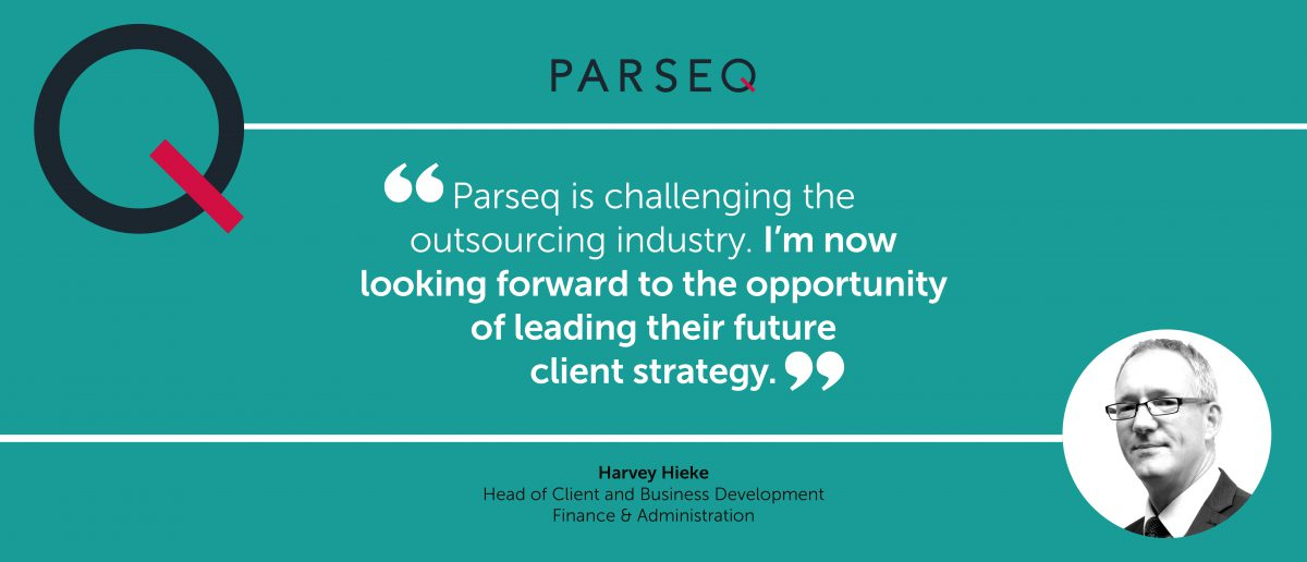 New Head of Client and Business Development joins Parseq's Finance & Administration division